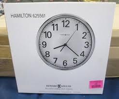Hamilton wall clock Rolex Big Lot 170 Of 315 Howard Miller Hamilton Wall Clock Auctions Hines Auction Service Howard Miller Hamilton Wall Clock