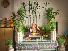 decoration ideas for ganesh chaturthi at home festivals of india