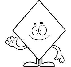 Small Picture shape coloring page