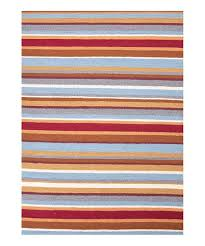 love this product red blue graduated stripe indoor outdoor rug