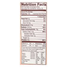 Green Mill Nutrition Chart Bobs Red Mill Chai Protein Powder Nutritional Booster 16 Oz Case Of 4