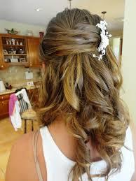 Wedding Half Up Hairstyles Half Up Half Down Wedding Hairstyles For Medium Length Hair