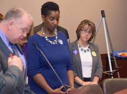 Rep. Gayle Mulligan at DDS Press Conference | Rep. Gayle Mul… | Flickr
