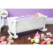 wooden baby doll cradle australia