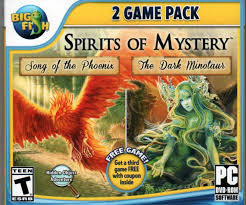 Get the mystery of the crystal portal. Amazon Com Spirits Of Mystery Hidden Object 2 Game Pack Song Of The Phoenix The Dark Minotaur Video Games