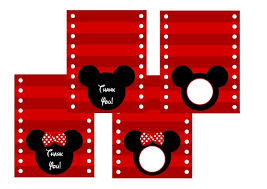 Mickey Mouse Party Printables Free Free Mickey Minnie Mouse Birthday Party Printables From