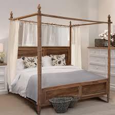 Settler Bedroom Furniture King Canopy Bed