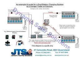 jamies 12 volt camper wiring diagrams dual battery isolator kit at Dual Battery Charging System Diagram