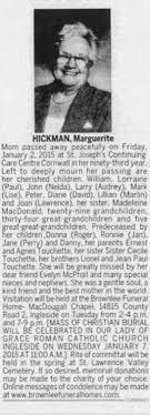 Obituary for Marguerite HICKMAN Mom - Newspapers.com