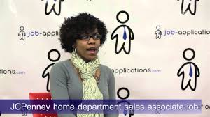 Jcpenney Associate Jcpenney Interview Home Department Sales Associate Youtube