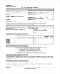 client information sheet template client information form template client info sheet template