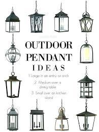 exterior pendant lights outdoor lamp lighting uk
