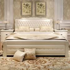 new design of bed 2018 double