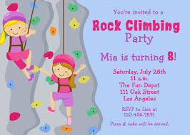 free printable birthday party invitations for girls free printable birthday party invitations rock climbing download