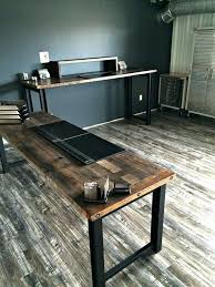 reclaimed wood office furniture. Reclaimed Wood Desks Office Furniture Wondrous Design Desk Exquisite Barn Michigan M