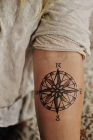 15 Compass Tattoo Designs For Both Men And Women T A T