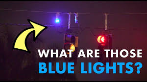 What Is Blue Light On Traffic Signal What Are Those Blue Lights Above Traffic Signals Curious Gulf Coast Pbs Npr For Southwest Fl