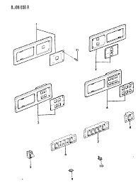 1989 jeep cherokee switches