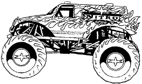 Monster Trucks Kleurplaat Ausmalbilder Monster Truck 9 Ausmalbilder