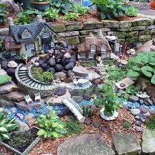 fariy garden. Retaining Wall Fairy Garden Fariy