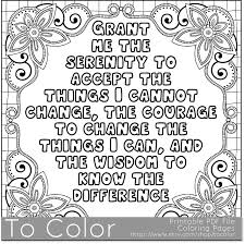 Serenity Coloring Page For Grown Ups This Is A Printable Pdf