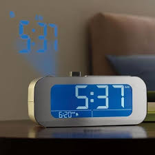 time projecting alarm clocks