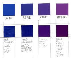 Violet Colour Chart Violet Color Aid And Painted Color Chart Emily Tobias