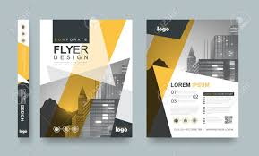 Pamphlet And Brochure Poster Flyer Pamphlet Brochure Cover Design Layout Space For