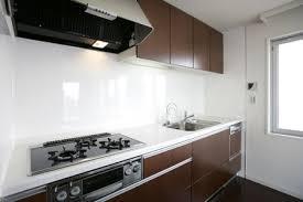 white kitchen glass backsplash. Interesting Glass On White Kitchen Glass Backsplash L