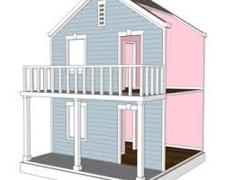 american girl doll house plans.  House Doll House Plans For American Girl Or 18 Inch Dolls  4 Room Side Play  NOT ACTUAL HOUSE For
