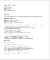 Standard Format Resume Stunning Standard Format Of Resume Putasgae