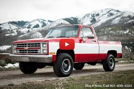 1985 Chevrolet C/K Pickup 1500 K10 4WD/4X4 Silverado Custom SHOP ...
