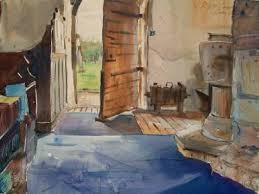 open door painting. Saatchi Art Artist RUPERT CORDEUX; Painting, \u201cOpen Door.\u201d #art Open Door Painting