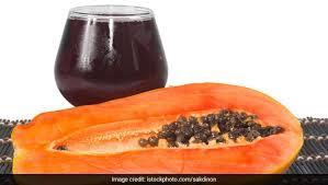 this papaya g mint juice may ease