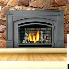 vent free propane fireplace insert gas inserts com reviews costco