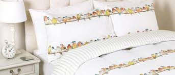 garden birds hedgerow duvet cover view large