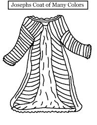 Josephs Coat Coloring Page Joseph Coat Coloring Page Josephs