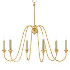 gold leaf chandelier57