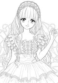 Small Picture Manga coloring pages cute ColoringStar
