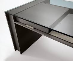 Office desk glass top Black Office Furniture Glass Top Desk Pinterest Office Furniture Glass Top Desk Furnishings Adored Pinterest