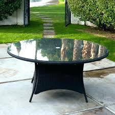 diy glass patio table top replacement round resin plastic tables medium size of set engaging