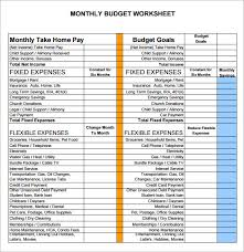 Sample Budget Sheet 5 Documents In Pdf Word