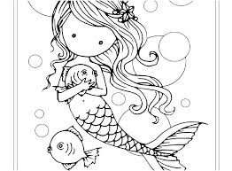 Mermaid Coloring Pages Printable Free Mermaid Coloring Pages