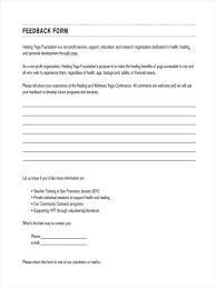 employee evaluation feedback impressive personal feedback formmplate employee evaluation forms