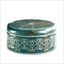 pottery barn leather ottoman hemeyhairssite leather round ottoman leather ottoman round round ottoman coffee table leather