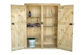solid wood storage cabinets tall with doors for plans 16