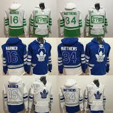 Maple 34 Felpa Marner 16 Nylander 2017 Cucita Jersey Mitch Matthews Auston Classic 29 Leafs Toronto Blu Hockey William Centennial 100th