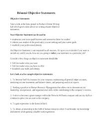 Objective For Resumes Impressive Resume Career Objectives Examples Career Objective Examples R Resume