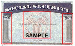 proof of social security number