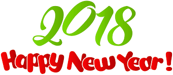 Image result for New Years 2018 clipart
